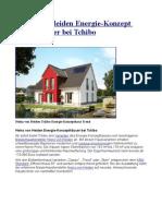 Heinz von Heiden Energie-Konzept Massivhäuser bei Tchibo