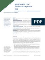 Stakeholder Governance