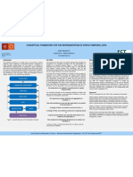 CONCEPTUAL FRAMEWORK FOR THE REPRESENTATION OF SPATIO-TEMPORAL DATA