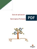0162_Nominaplus Profesional_Guía Aplicación y Transferencia