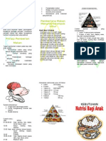 Leaflet Gizi Untuk Anak