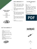 Leaflet Imunisasi 2006
