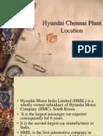 Hyundai Chennai Plant Location