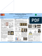 EXPERIMENTAL CHARACTERIZATION OF COMMERCIALLY AVAILABLE GROUTS FOR USE IN MASONRY STRUCTURES