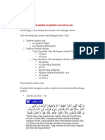 Sumber2 Hukum Islam 1