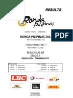 Ronda Pilipinas 2012 - Stage 5