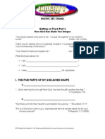 Getting on Track Part 3, Handout