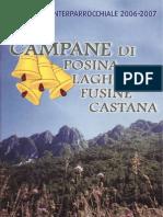 Campane di Posina - Anno 2006-2007