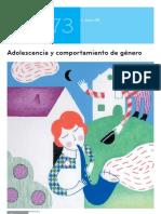 adolescencia y comportamientos de género