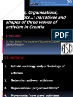 Networks, Organisations, Movements...