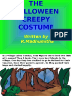 The Halloween Creepy Costume - R Madhumita