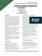Aplicaciones de Variables y Distribucion de Probabilidad