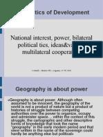 Geopolitics of Development