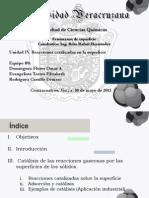 Catalisis de Las Reacciones Gaseosas Po Las Superficie de Los Solidos (1)