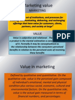 Marketing Value-seminar Slide