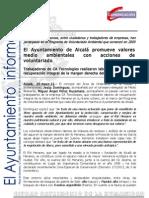 M AMBIENTE  Voluntario Ambiental Río