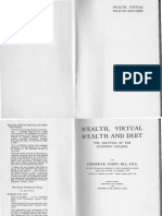 Wealth Virtual Wealth and Debt by Frederick Soddy