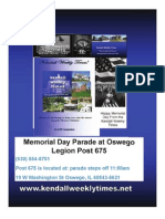 Mem Day Kendall Weekly Times