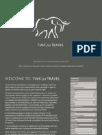 Time for Travel 2009 E-brochure