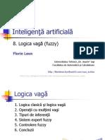 44090502 Inteligenta Artificial A Logica Vaga Fuzzy