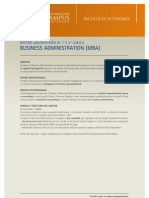 eCampus Master BUSINESS ADMINISTRATION