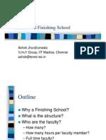 Finishing School Concept Sept06 Jhunjhunwala
