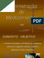 administração de medicação