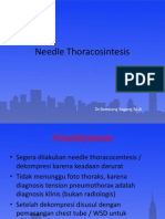 Teori Needle Thoracosintesis
