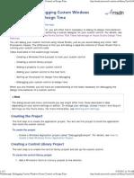 Debugging Custom Windows Forms Controls at Design Time