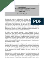 Capítulo Libro Espacio Publico, Ecuentro de Multitudes, Juan Carlos Pérgolis
