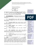 Adam Mersereau 3b Generic Form Sponsorship Agreement WIPO_JIPO Sports and IP April 2011
