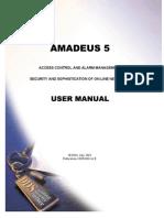 Amadeus5 User Manual