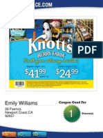 Knotts Coupon