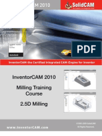 Inventor Cam 2010 Milling Training Course 2 5D Milling