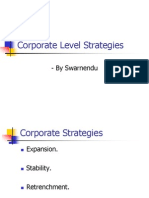 Corporate Level Strategies[1]