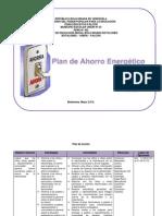 Plan de Ahorro Energético