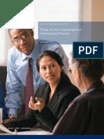Three D for Improv Forecasting Proc KPMG