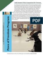Companion Dog Newsletter 5-2012