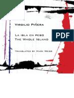 La isla en peso. Virgilio Piñera