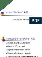 Ada Concurrencia Invocacion Remota