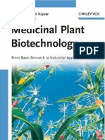 Medicinal Plant Biotechnology-Teaching Book