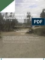 Teoría Sobre Tratamiento De Aguas Residuales En Zonas Urbanas (Autoguardado)