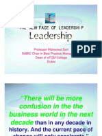 The New Face of Leadership by Prof Mohamed Zairi