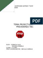 prevenire tbc