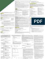 Fnce 100 Final Cheat Sheet
