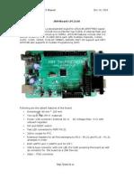 JARM7 LPC 2148 Manual Board