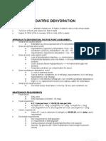 Diarrhea and Dehydration