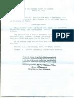 alabama supreme court corrected order 3-28-12