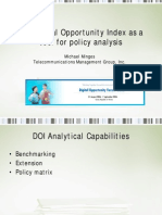 Digital Opportunity Index