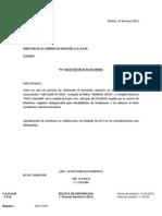 CARTA DE ACTA